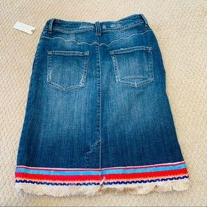 cb0ba50375 Dresses | Pilcro Trimmed Denim Skirt | Poshmark